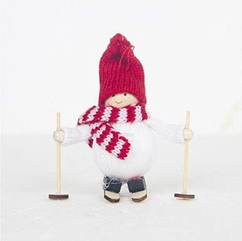 Christmas Creative Angel Girl Ski Doll Christmas Tree Party Decoration Kids Gift