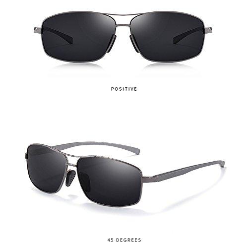 turismo sol de de C los Gafas cuadradas conducción de polarizadas sol UV Gafas deportivo de de Gafas hombres gqwCZ
