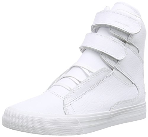 Mens Supra Red Supra Trainers Society Leather Mens White II White CEqg5B7wB