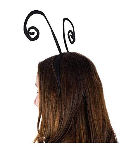 Butterfly Antenna Headband Head Boppers Bug Antenna Headband Funny Headbands 2 Pack Zeagro Antenna Headband