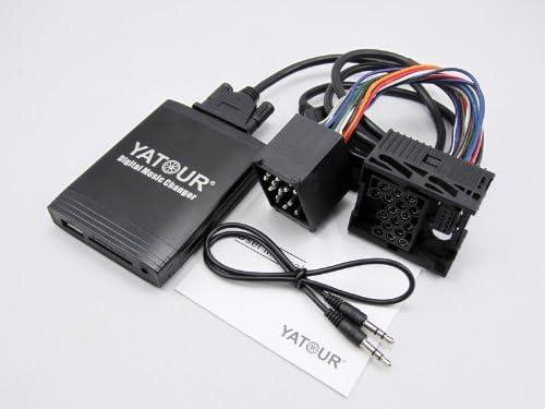 YATOUR Car Digital Music Changer MP3 Adaptor Interface Auto Stereo USB SD AUX Bluetooth Radio for BMW1 Optional