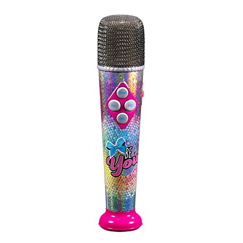 Jojo Siwa Sing Along MP3 Microphone with Built in Speaker Sing to The Built in Song or Connect to Your MP3 Player and Sing to Whatever You Like with The Real Working MIc ()
