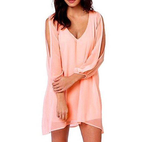 Pinkyee CLAK0235078 - Vestido Rosa