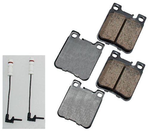 Akebono EUR603 EURO Ultra-Premium Ceramic Brake Pad Set