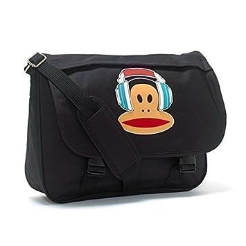 Paul Frank - Bolsa para colegio, mochila, diseño con auriculares, color negro: Amazon.es: Electrónica