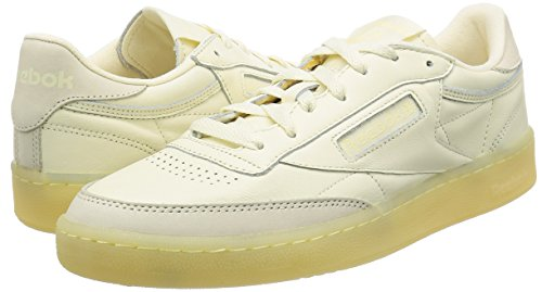 Homme BS Leather homme REEBOK basses Club Clearsole pour Baskets C Blanc wE417Pq