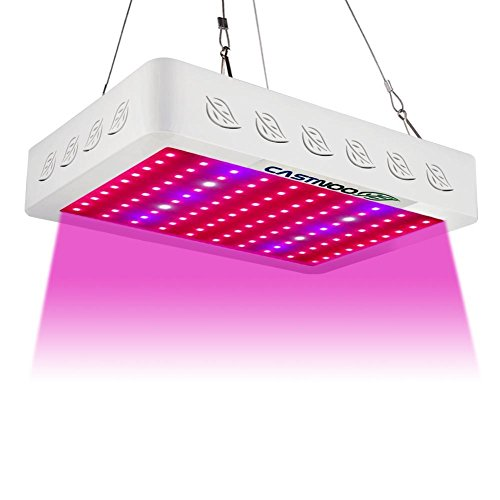 300 Watt Led Grow Light, Plant Grow Lights Full Spectrum with UV&IR for Hydroponic Indoor Plants Growing Veg and Flower Sold by Castnoo by Castnoo