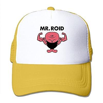 WGMHQQ Unisex Mr Roid Fashion Mesh Cap Snapback Hats