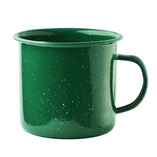 Asobu Happy Trails Classic Country Camper Coffee and Tea Mug (Green)