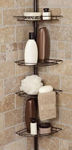 Amazon.com : Shower Caddy Corner Shelf Organizer Bath Storage ...