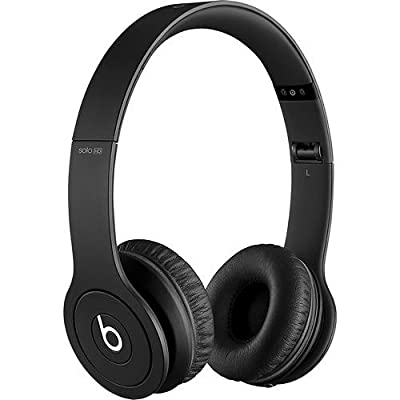 Beats by Dr. Dre Solo HD Black Monochromatic On-Ear Headphones