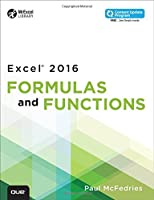 Excel 2016 Formulas and Functions Front Cover
