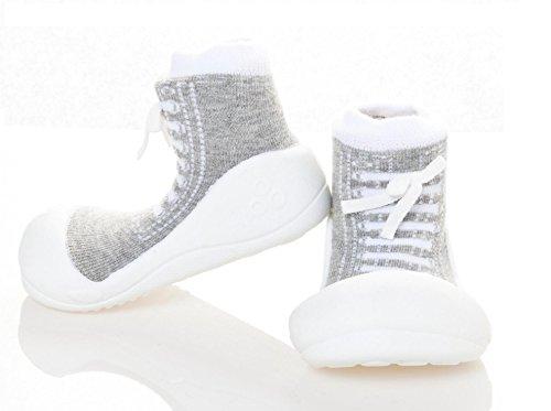 Attipas - Zapatos primeros pasos para niña Gris