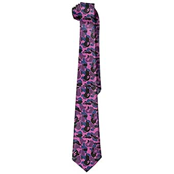 Mens Bape Shark Pink Soft Fashion Novelty Corbata Tie Neck Tie ...