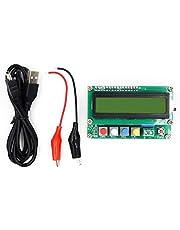 Silverdewi Instrumentos de Prueba de Condensador de medidor L/C de capacitancia de inductancia de Alta precisión LCD Digital con Todas Las Funciones - Multicolor