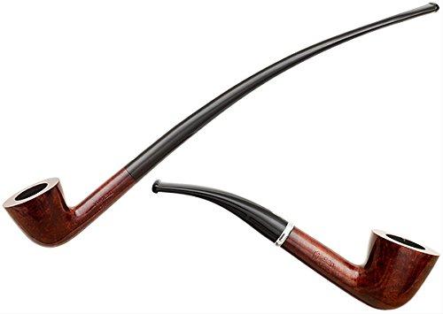 Savinelli Tandem 920 KS Smooth Tobacco Smoking Pipe 2 Stems One Bowl