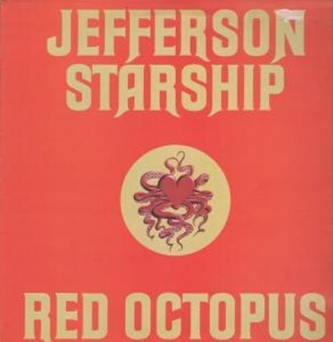 Red Octopus LP (Vinyl Album) UK Grunt 1975