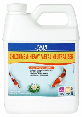 Pondcare 141G 32 Oz Chlorine & Heavy Metal Neutralizer (Neutralizer Pondcare Chlorine)