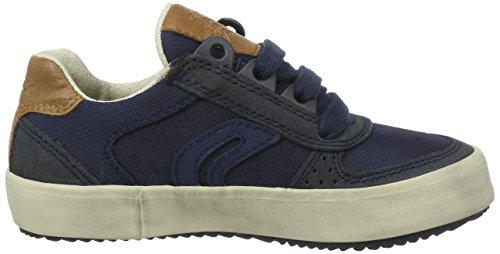 Geox J Alonisso a, Zapatillas Para Niños Azul (Navyc4002)