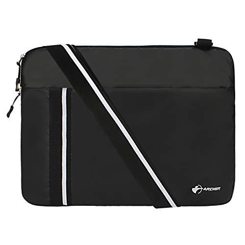 Archer Robinhood 15 Inch Laptop Messenger Bag  Black