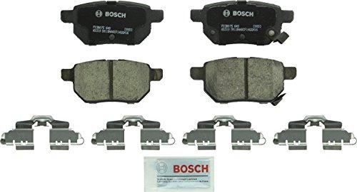 (Bosch BC1354 QuietCast Premium Ceramic Disc Brake Pad Set For: Lexus CT200h; Pontiac Vibe; Scion iM, tC, xB; Toyota Corolla, Matrix, Prius, Prius Prime, Yaris, Rear)
