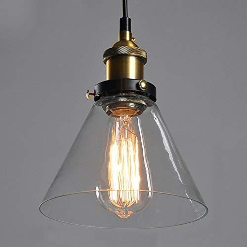 unimall industrial lamp vintage light pendants glass ceiling light