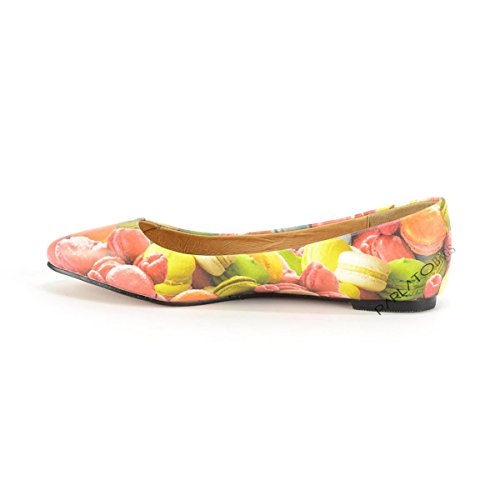 Donna Not 9503i Women Ballerine Scarpe Shoes Multicolor Y q4xfS5
