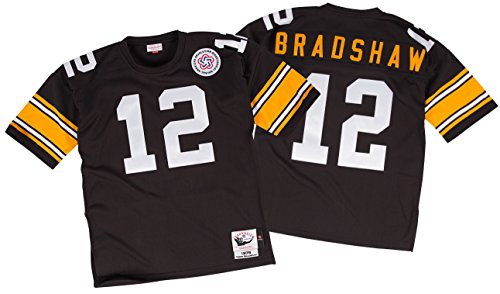 Terry Bradshaw Pittsburgh Steelers Mitchell & Ness Authentic 1975 NFL (Bradshaw Jersey)