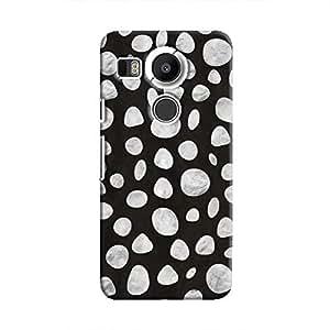 Cover It Up - Diamond Black pebbles Nexus 5X Hard case