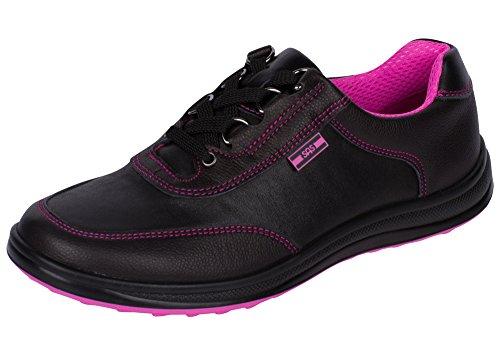 SAS Womens Sporty Walking Shoes Black/Pink sHfAFXimNS