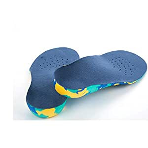 Amazon.com : 1 Pair EVA KID Arch Support Insoles Children 'S Orthopedic Orthotics Shoe Pad for ...