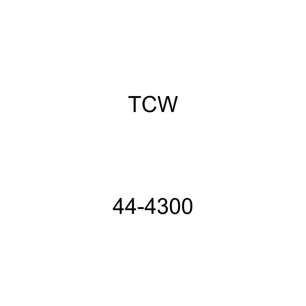TCW Quality A//C Condenser 44-4300 with Perfect Vehicle Fitment