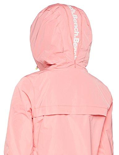 Bench Damen Jacke Easy Jacket Solid Rosa (Strawberry Pink Pk11480) EhPBQEH