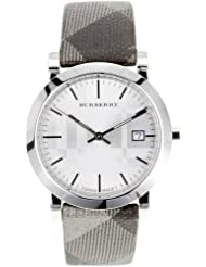 Burberry Womens BU1869  Stainless Steel Analog Silver Dial Watch