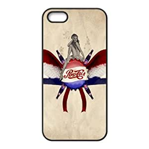 Coca Cola iPhone 5 5s Cell Phone Case Black LMS3859963