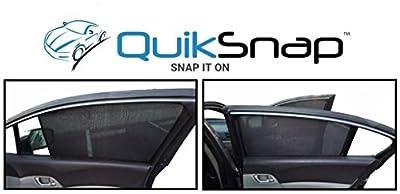 QuikSnap sunshades - Custom side window sunshades (Set of 4)