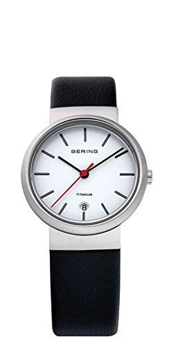 Bering Time 11029-404 Ladies White Black Watch