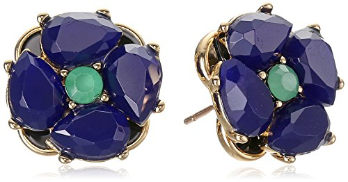 "UPC 098686531529, kate spade new york ""Izu Petals"" Blue Multi-Stud Earrings"