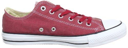 Converse Ct Bas Wash Ox 287140-61-43 - Zapatillas de tela unisex Rojo