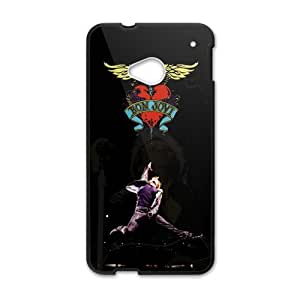 EROYI Bon Jovi Heart And Dagger Logo Cell Phone Case for HTC One M7