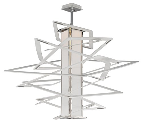 Corbett Lighting 185-44 Tantrum LED Pendant with Opal Diffuser 45