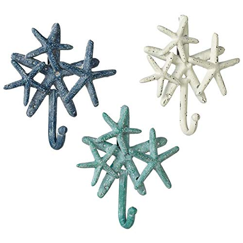 Cluster Starfish - Starfish Cluster Wall Hooks - Set of 3 Midwest CBK 163411