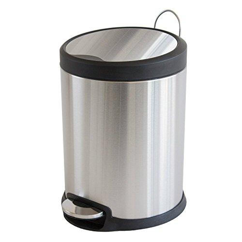 Treteimer Mülleimer Abfalleimer mit Absenkautomatik - 3,5 oder 20 Liter (3 Liter)