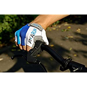 Bike Gloves with resistant GEL PADS for mountain biking, cycling and riding / FREE BONUS: 3 E-BOOKS/ for Men and Women by AVARUN