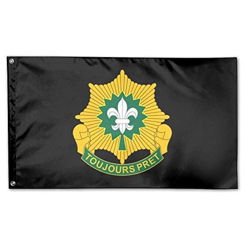 Cavalry Unit - UDSNIS 2nd Armored Cavalry Regiment Unit Garden Flag 3 X 5 Flag For House Decoration Banner Black