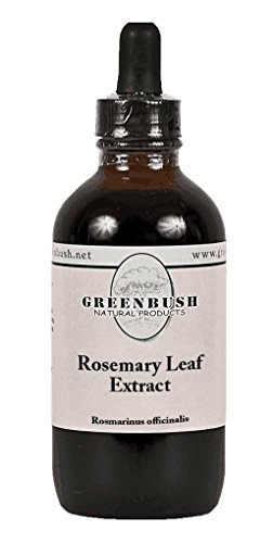 Rosemary Leaf Super Concentrated Alcohol-Free Liquid Extract. Value Size 4oz Bottle (120ml) 240 Doses. 4:1 Strength: Memory, Mental Function, antioxidant, Allergies