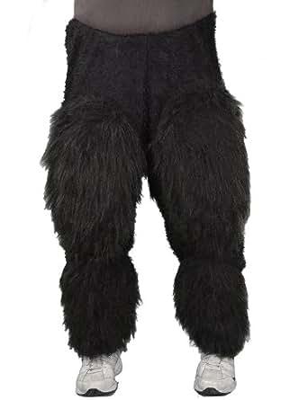 Zagone Ape Pants Beast Legs Black Faux Fur Light Weight  sc 1 st  Amazon.com & Amazon.com: Zagone Ape Pants Beast Legs Black Faux Fur Light ...
