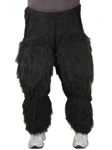 Zagone Ape Pants, Beast Legs Black Faux Fur, Light Weight for $<!--$37.78-->