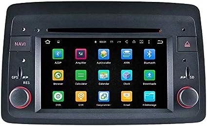 Topnavi Android 8.0 auto stereo per Fiat Panda 2004 2005 2006 2007
