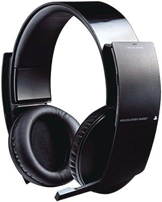 amazon com wireless stereo headset playstation 3 video games rh amazon com PSN Headset PS4 Headset